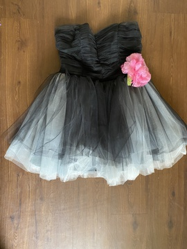 Queenly size 12 Betsey Johnson Black Cocktail evening gown/formal dress