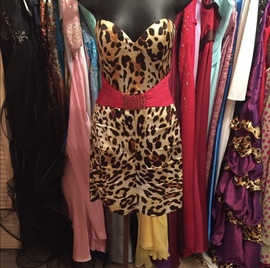 Sherri Hill Multicolor Size 4 Belt Cocktail Dress on Queenly
