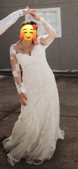 Justin Alexander Sweetheart White Size 14 Lace Custom Mermaid Dress on Queenly