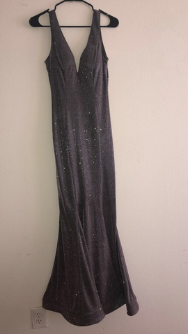 Silver Size 2 Cocktail Dress on Queenly