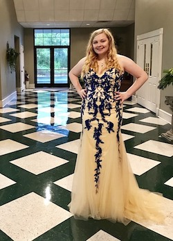 Queenly size 18 Sherri Hill Nude Mermaid evening gown/formal dress