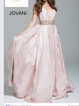 Jovani Multicolor Size 16 Pageant Train Dress on Queenly