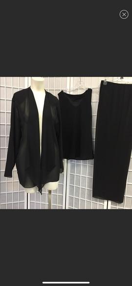 Caribe Black Size 10 Jumpsuit Romper/Jumpsuit Dress on Queenly
