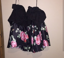 Narianna Black Size 0 Two Piece Cocktail Dress on Queenly