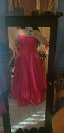 Queenly size 20  Pink Ball gown evening gown/formal dress