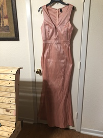Queenly size 10  Pink Mermaid evening gown/formal dress
