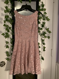 Queenly size 2 Speeckless Pink Cocktail evening gown/formal dress