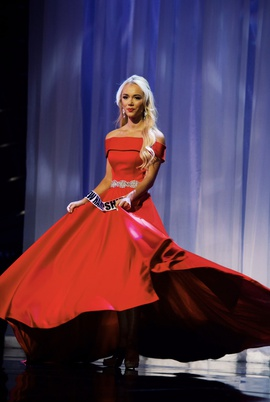 Ashley Lauren Red Size 2 Pageant Tall Height Ball gown on Queenly
