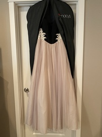 Blondie Nites Nude Size 12 Ball gown on Queenly