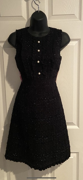 Kate Spade Black Size 00 Pageant A-line Dress on Queenly