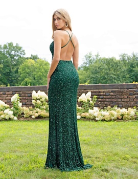 Green Size 00 Mermaid Dress on Queenly