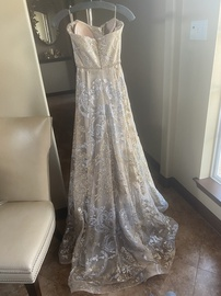 Roland Nivelis Gold Size 2 Strapless Pageant Ball gown on Queenly