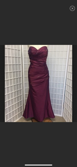 Occasions Purple Size 10 Mermaid Dress on Queenly