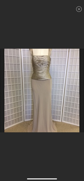 Mon Cheri Gold Size 8 Mermaid Dress on Queenly