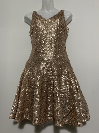 Queenly size 0  Gold Cocktail evening gown/formal dress