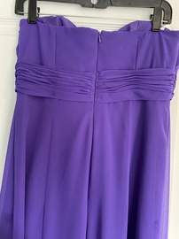 David's Bridal Purple Size 8 Straight Dress on Queenly