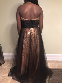 Jovani Multicolor Size 14 Plus Size Ball gown on Queenly