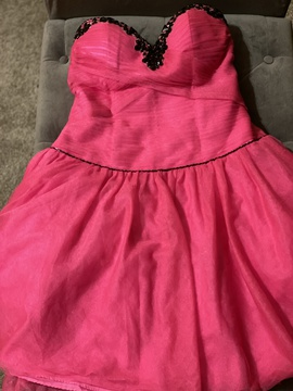 Queenly size 10  Pink Cocktail evening gown/formal dress