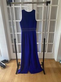 Blue Size 8 Romper/Jumpsuit Dress on Queenly
