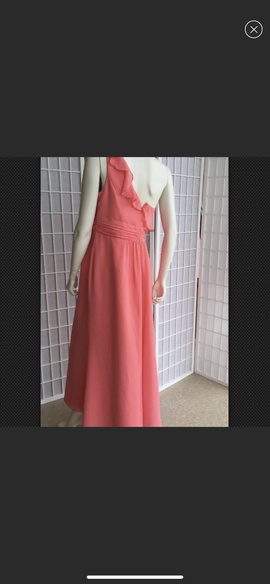 Davids Bridal Pink Size 16 A-line Dress on Queenly