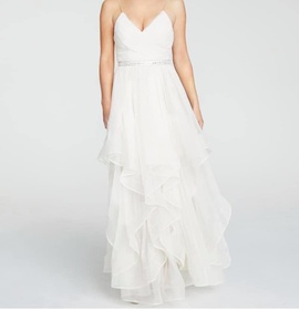 White Size 0 A-line Dress on Queenly