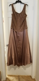 Cachet Gold Size 24 High Neck A-line Dress on Queenly