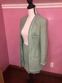 Chanel Green Size 2 Mini Cocktail Dress on Queenly