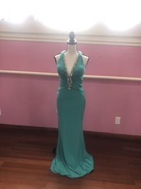 Tony Bowls Green Size 2 Backless Mermaid Dress on Queenly