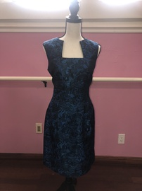 Queenly size 6 Tahari Blue Cocktail evening gown/formal dress