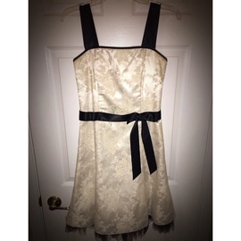 Jessica McClintock White Size 2 Homecoming A-line Dress on Queenly