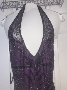 Queenly size 8 Precious Formals Purple Mermaid evening gown/formal dress