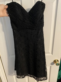 Queenly size 12 Mori Lee Black Cocktail evening gown/formal dress