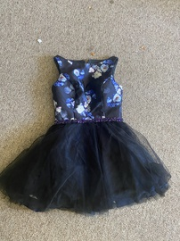Queenly size 14 Mori Lee Black Cocktail evening gown/formal dress