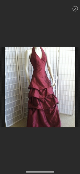 Queenly size 12 Xcite Red Mermaid evening gown/formal dress