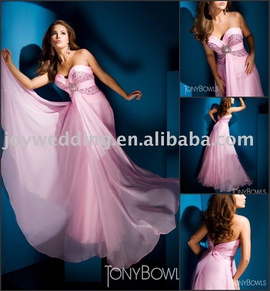 Tony Bowls Pink Size 4 Sweetheart Straight Dress on Queenly