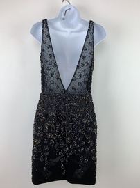 Vienna Black Size 2 Homecoming Mini Cocktail Dress on Queenly
