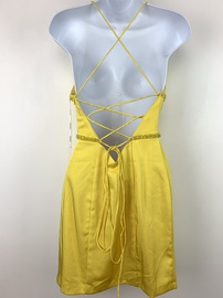 Vienna Yellow Size 2 Cocktail Dress on Queenly