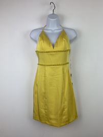 Queenly size 2 Vienna Yellow Cocktail evening gown/formal dress