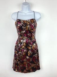 Queenly size 2 Vienna Multicolor Cocktail evening gown/formal dress