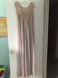 Nude Size 4 Side slit Dress on Queenly