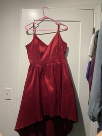 B Darlin Red Size 18 Plus Size A-line Dress on Queenly