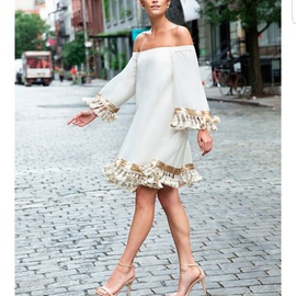 Mestiza Nude Size 2 Sleeves Cocktail Dress on Queenly