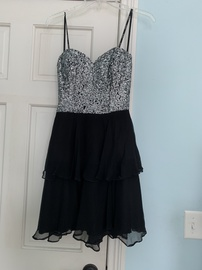 Scala Black Size 0 Cocktail A-line Dress on Queenly