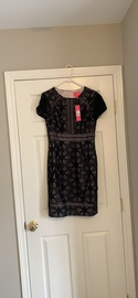 Queenly size 10 Lilly Pultizer Black Cocktail evening gown/formal dress