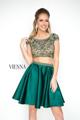 Queenly size 14 Vienna Green Cocktail evening gown/formal dress
