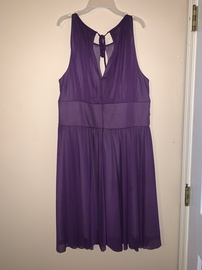 Purple Size 14 Cocktail Dress on Queenly