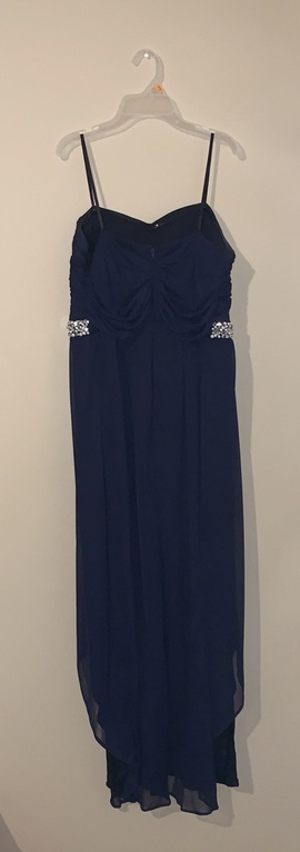 Blue Size 16 Cocktail Dress on Queenly