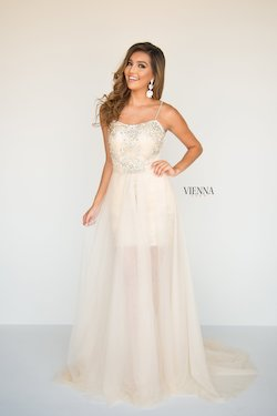 Queenly size 18 Vienna Nude Cocktail evening gown/formal dress