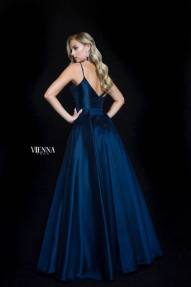 Style 7828 Vienna Blue Size 4 Sweetheart Tall Height A-line Dress on Queenly
