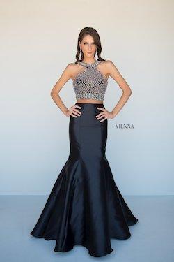 Queenly size 18 Vienna Black Mermaid evening gown/formal dress